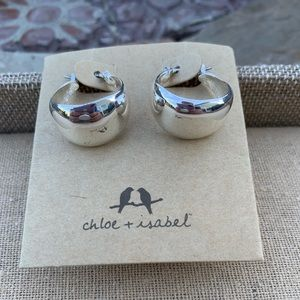 Chloe + Isabel La Lune Sculpted Hoops